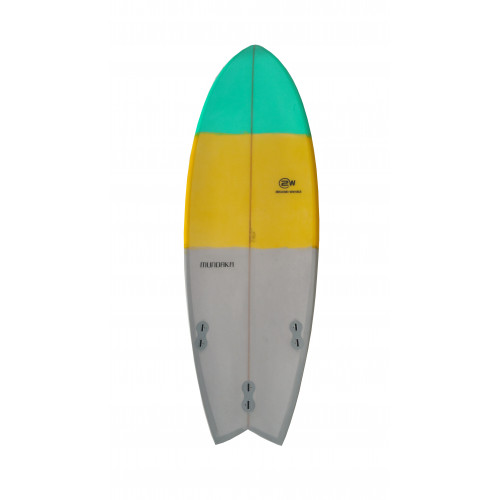 Tabla de surf 2W Mundaka Fish 6' x 21''x2'' 1/2 - 34 litros