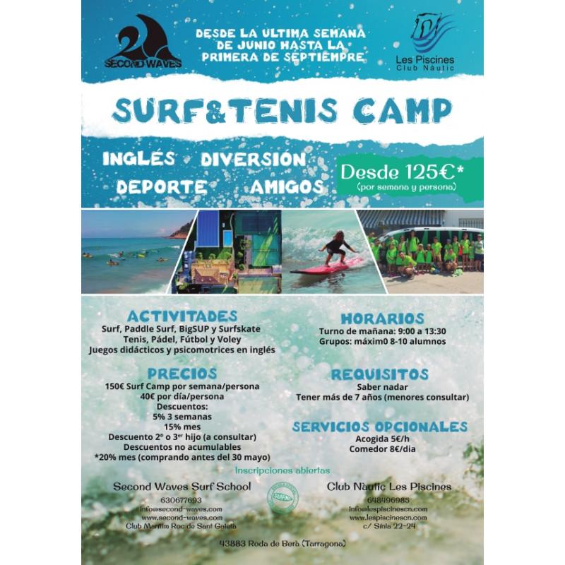 Surf y Tenis Camp de Verano