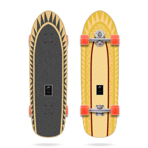 """SNAPPERS 32.5"""" HIGH PERFORMANCE SERIES SURFSKATE YOW"""