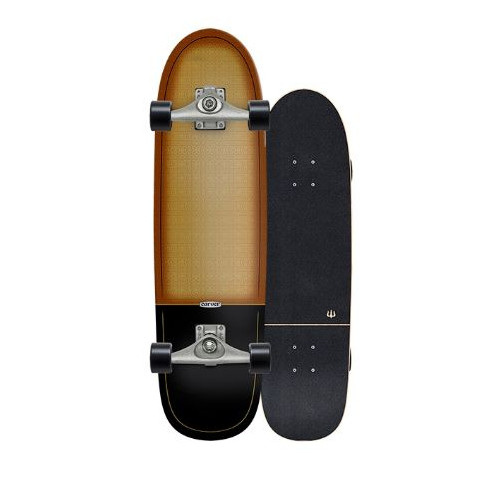 Surfskate Gussie AVALANCHE 31″ by Slide Surf Skateboards.