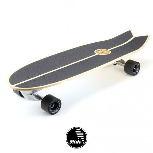 "Surfskate SWALLOW TRICK 33"" by Slide Surf Skateboards."